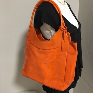 Nieman Marcus Orange Tote
